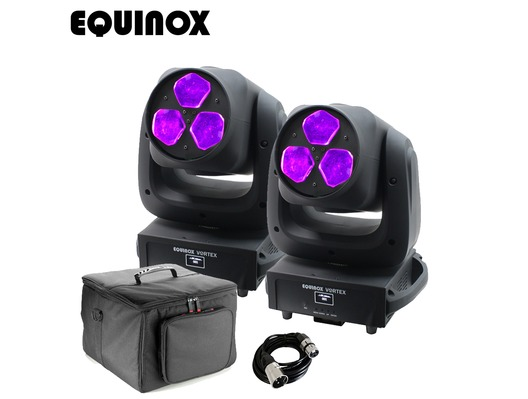 Equinox Vortex (Pair) with Carry Bag and Cable