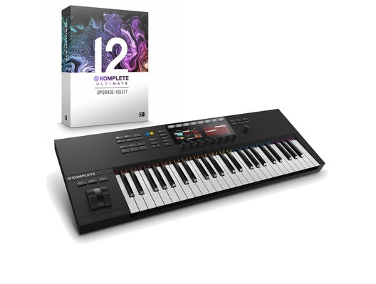 Native Instruments Kontrol S49 MK2 with Komplete 12 Ultimate Upgrade