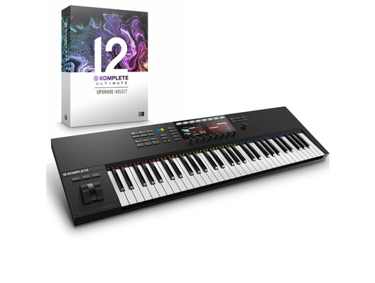 Native Instruments Kontrol S61 MK2 with Komplete 12 Ultimate Upgrade
