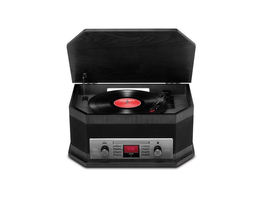 ION Octave LP Music System Black