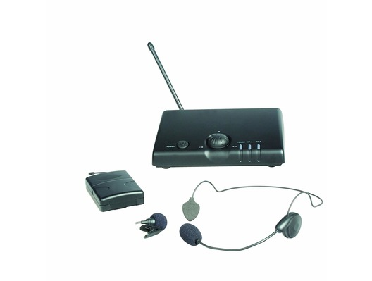 Prosound A70UR Single Headset or Tie Clip VHF Wireless Mic