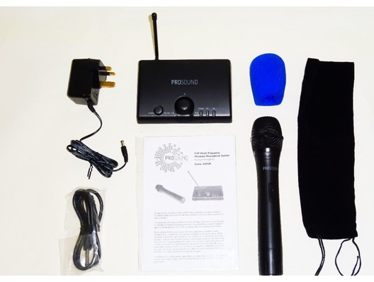 Prosound A69UR Single Handheld VHF Wireless Mic