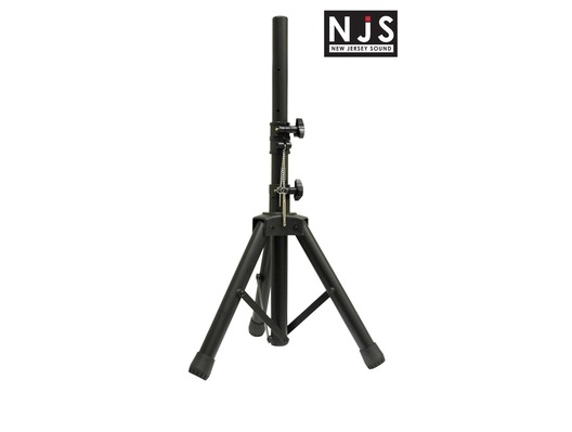 NJS 35mm Short Adjustable Aluminium PA Speaker Stand