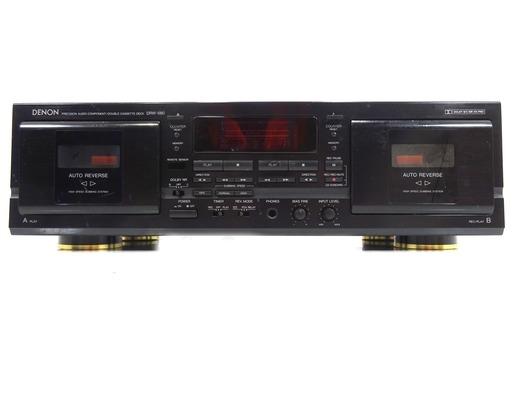 Denon DRW-580 Dual Cassette Deck
