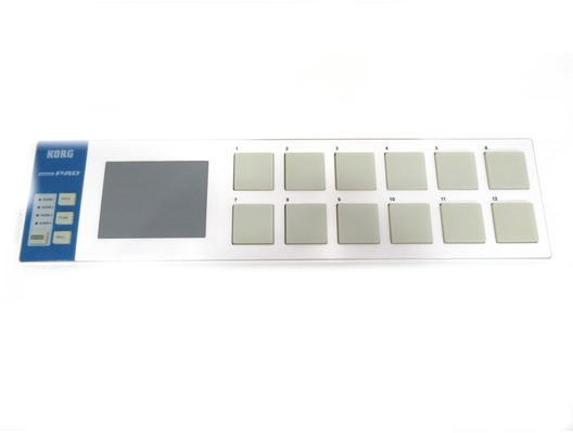 Korg Nanopad Slimline USB Midi Drum Pad Controller