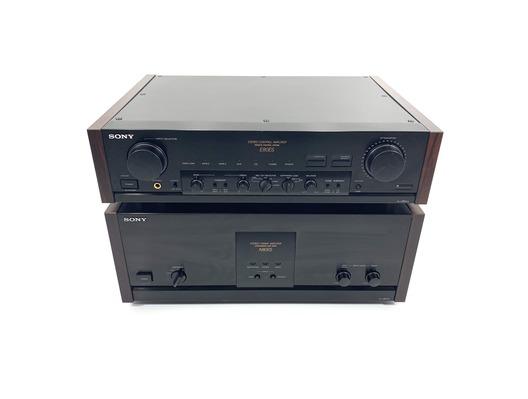 Sony TA-N80ES / TA-E80ES Stereo Power Amplifier & Control Pre Amplifier
