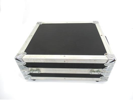 Turntable Flight Case Universal (Black/Silver)