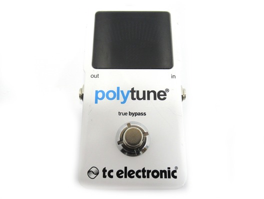 TC Electronic Polytune Guitar Tuner Pedal