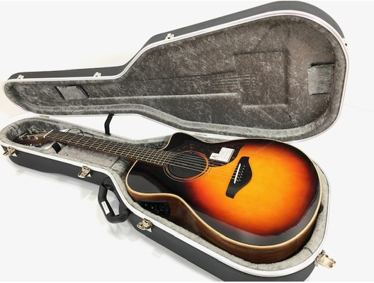 Yamaha AC3M Concert Electro Acoustic Guitar inc Hard Case