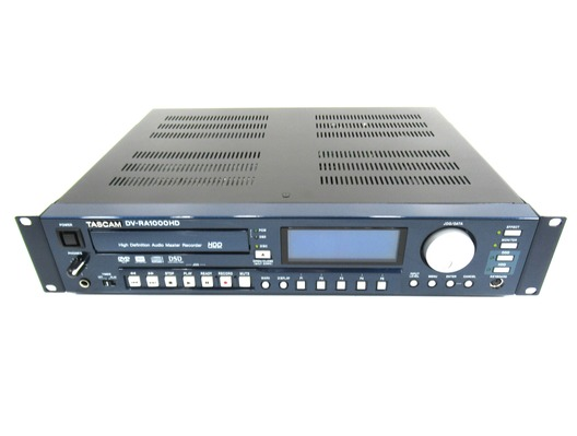 Tascam DV-RA1000HD High Definition Master Recorder