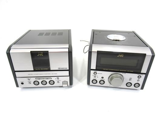 JVC UX-D66 Micro HiFi System - Tuner/CD & Tape Deck/Amp