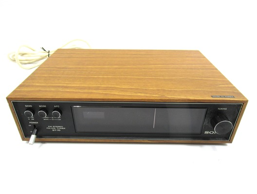 Sony ST-70 Stereo AM/FM Tuner