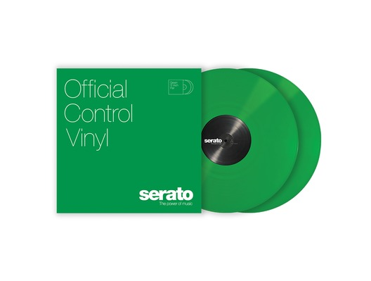 Serato 12 inch Control Vinyl Standard Colours (Pair) - Green