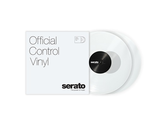 "12"" Serato Standard Colors (Pair) - Clear"