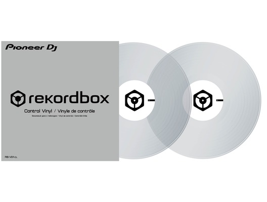 Pioneer RB-VD1-CL Rekordbox DJ Control Vinyl - Clear
