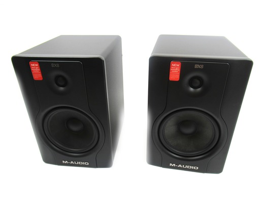 M-Audio BX8 D2 Monitors (Pair)