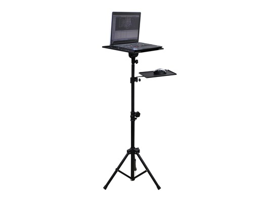 Adjustable Tripod Laptop Stand with Mouse Shelf