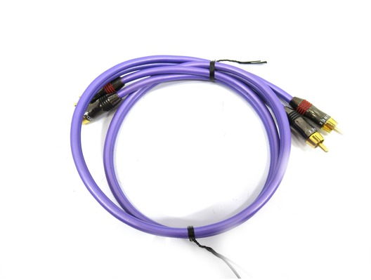 QED Qunex 1 Balanced Low Level Cable RCA - RCA (1.0 N)