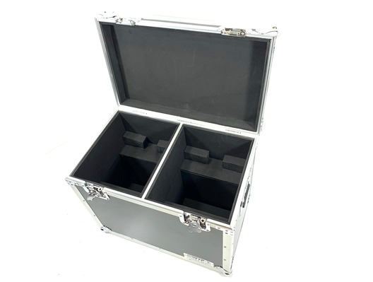 Total Impact Flight Case For 2 Medium Moving Heads