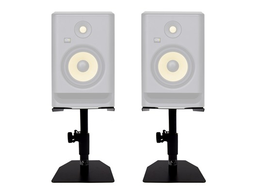 Pair Gorilla GSM-50 Desktop Studio Monitor Stands