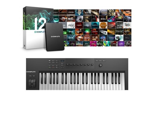 Native Instruments Komplete Kontrol A49 with Komplete 12 Software