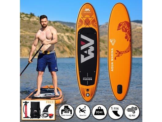 2019 Aqua Marina Fusion iSUP 3.15M/15CM Paddle Board