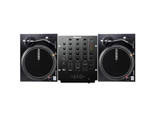 Reloop RP-2000 MK2 Turntables & Numark M4 Black Mixer Package