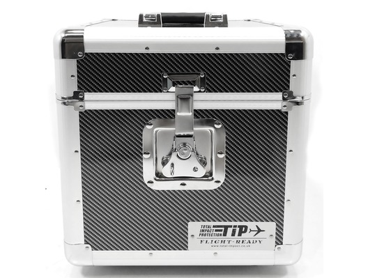 Total Impact TIP LP100 Vinyl Record Carry Case (Carbon)