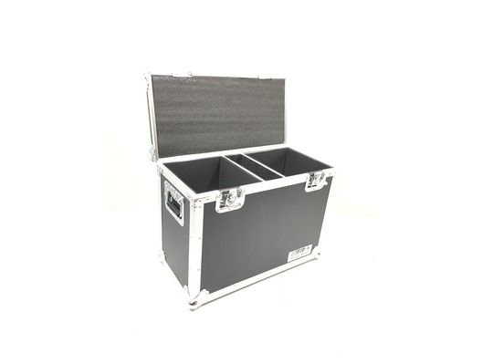 Total Impact Flight Case For 2x Medium Moving Heads