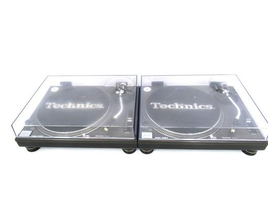 Technics SL1210 MK2 Direct Drive Turntables (Pair)