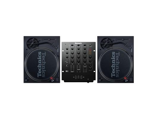 Technics SL120 MK7 Turntables & Numark M4 Mixer Package