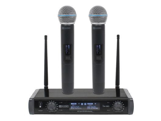 B-Stock W Audio TM 80 Twin Handheld UHF System