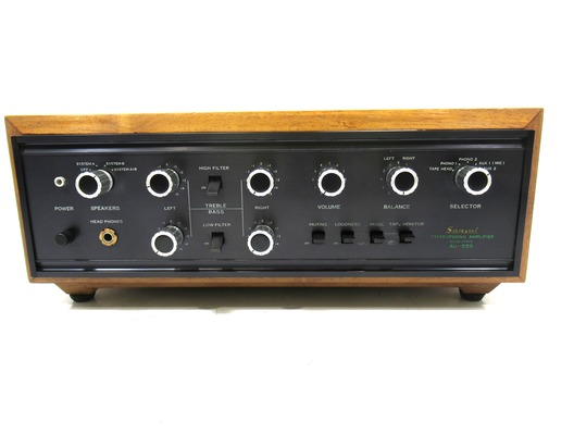 Sansui AU-555 Amplifier