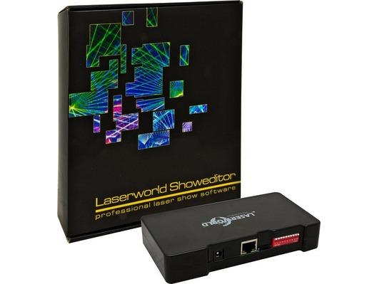 Laserworld ShowNET - incl Showeditor Laser Show Software