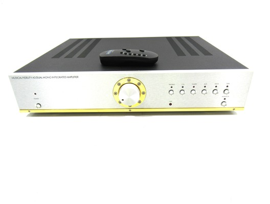 Musical Fidelity A3 Dual Mono Integrated Amplifier MM/MC