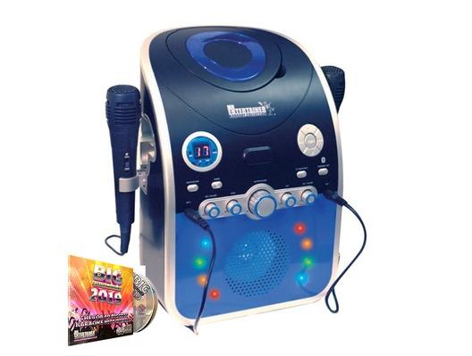 Mr Entertainer CDG Karaoke Machine with Bluetooth & LED Lights