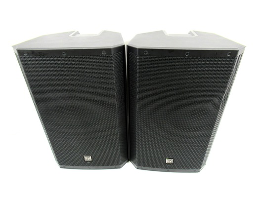 Electro Voice ZLX 15P Active Speaker Pair with EV Covers