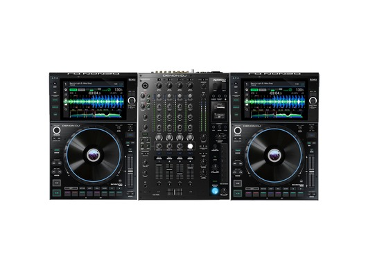 Denon DJ SC6000 Prime Media Player (Pair) + X1850 Prime Mixer