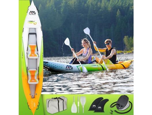 2019 Aqua Marina Betta HM-K0 2-Person Inflatable Kayak Inc Paddle