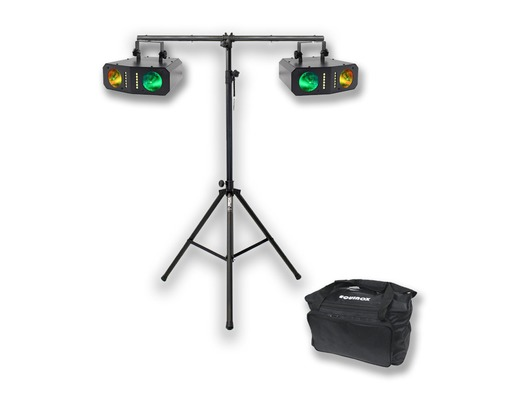 Equinox Boogie x2 with T-Bar Stand and Carry Bag