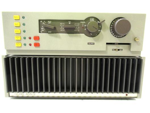 Quad 44 Control Unit and Quad 405 Amplifier