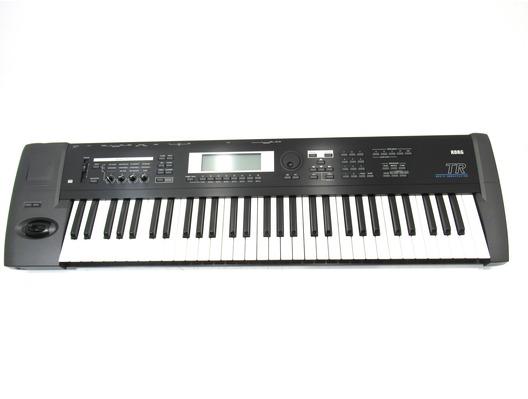 KORG TR 61 Key Keyboard Synthesizer Workstation