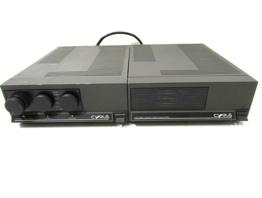 Cyrus Two Integrated Amplifier & PSX Power Supply