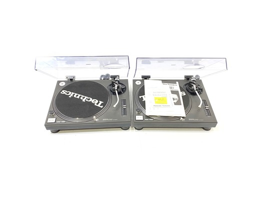 Technics SL1210 MK2 Direct Drive Turntables (Pair)