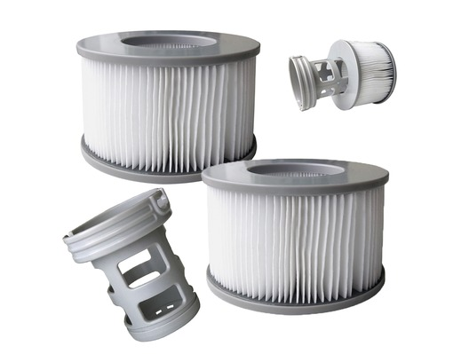 MSpa 2020 Model Filter Cartridges (Pair) with Adaptor for Older Models
