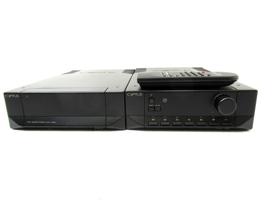 Cyrus 3i Integrated Amplifier & Cyrus PSX-R Power Supply