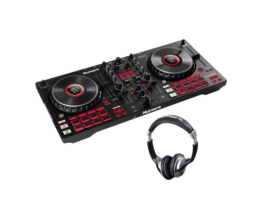 Numark Mixtrack Platinum FX with Headphones Bundle