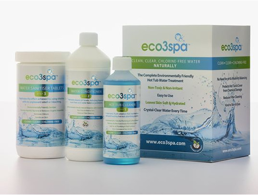 eco3spa Hot Tub Water Care Kit