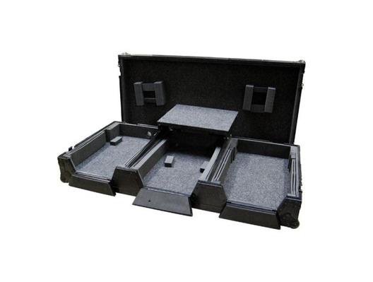 "Total Impact Coffin CDJ2000 & 12.5"" Mixer case"