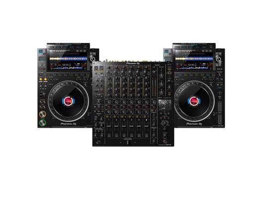 Pioneer CDJ-3000 (x2) + DJM-V10 w/Cable